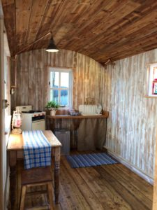 The kitchen hut